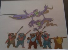 80's Star Wars Ewok Cartoon