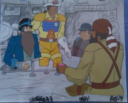 80's BraveStarr Cartoon