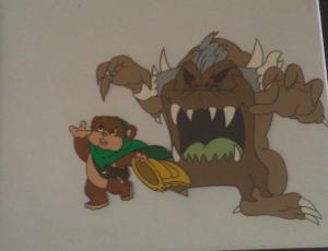 80's Star Wars Ewok Cartoon
