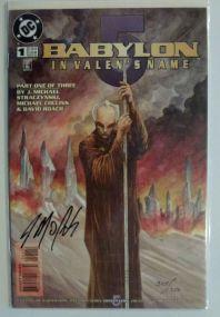 Babylon 5 Creator Michael J Straczynski Autograph