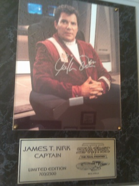 William Shatner Autograph