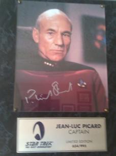 Patrick Stewart Autograph
