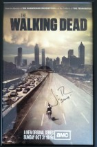The Walking Dead Poster Autographed by Jon Bernthal (Shane)