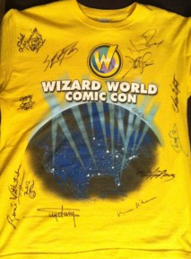Signed by Val Kilmer, John De Lancie, Norman Reedus, Sean Patrick Flanery, Micheal Golden, Micheal Champion, Neal Adams, Dirk Manning, Arthur Suydam and many more.