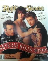 Signed by Luke Perry and Jason Priestley