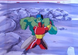 Iron Man vs Hulk from Iron Man The Animated Series 1994-1996