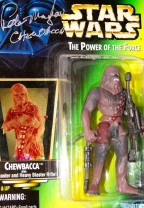Autographed by Peter Mayhew