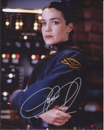 Claudia Christinsen- Commander Ivanova on Babylon 5