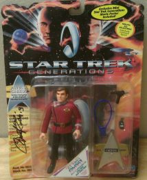 Autographed by Walter Koenig
