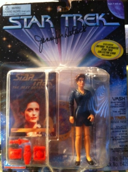 Jennifer Hetrick aka Vash on Star Trek TNG / DS9