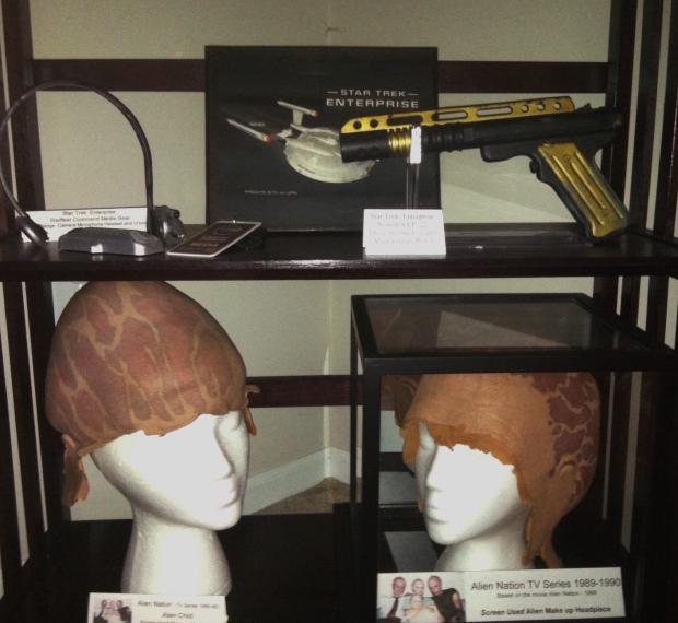 Star Trek Enterprise and Alien Nation Props