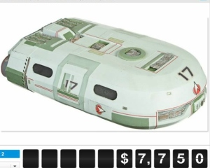 Star Trek Model Sold for $7,750!