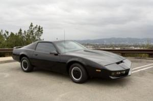 SERIES SCREEN USED KNIGHT RIDER KITT TRANS AM