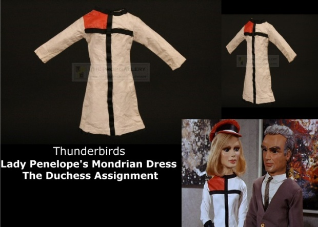 Lady Penelope's Mondrian dress - The Duchess Assignment 1a