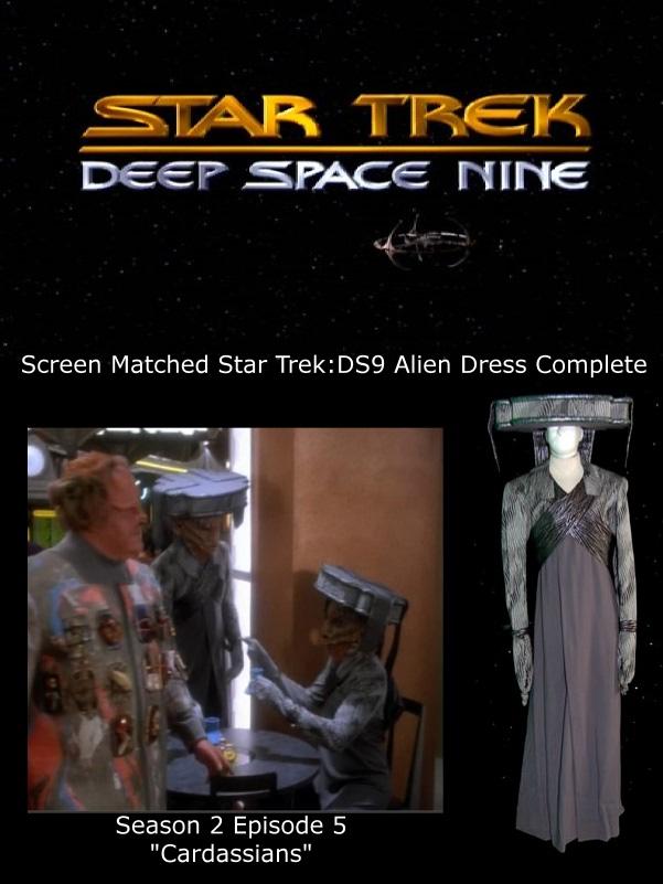 STDS9 Alien costume