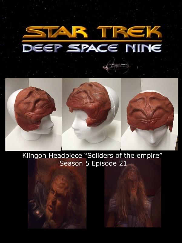 STDS9 klingonheadpiece