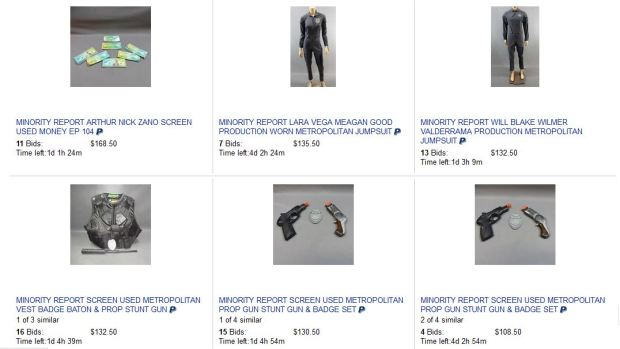 minority report auction 1