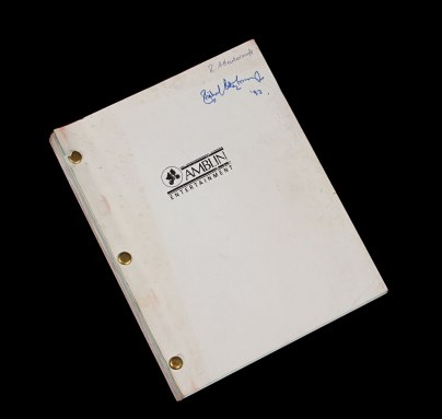 JurassicPark-Richard Attenborough Script