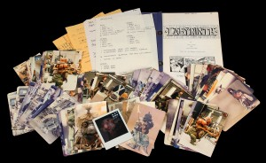 Labyrinth-Production Used Script and Photos